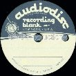 Audiodisc Recording Blank Record