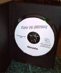 Simple Graphics DVD Label
