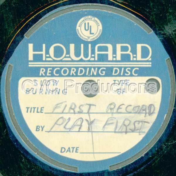 Howard Recording Disc